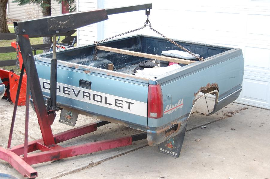 How To Remove Pickup Truck Bed